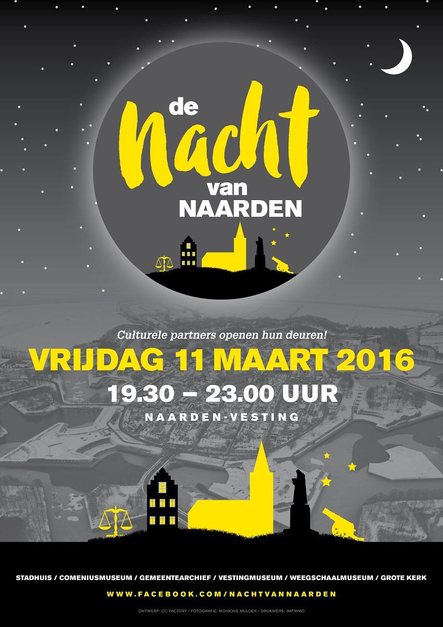 2016 0311 Nacht van Naarden - A3 Poster